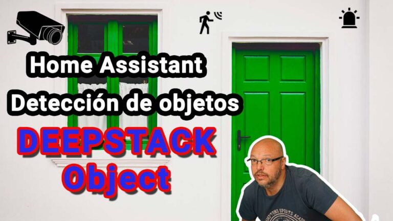 Detección de objetos: DEEPSTACK en Home Assistant